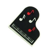 Kuyruklu Piyano - Notalar Kauçuk Mıknatıs