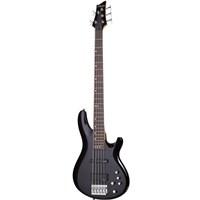 Schecter C-5 Deluxe ( STBLK ) Bas Gitar