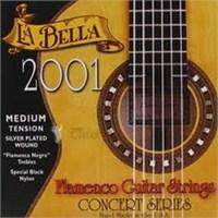 La Bella 2001 Concert Series Flamenko Gitar Takım Teli (Medium)