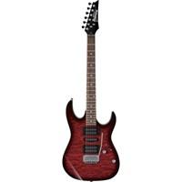 Ibanez GRX70QA-TRB Transparent Red Burst Elektro Gitar