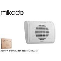 Mikado Mdw114t 5-12.7Cm 6W Max:10W 100V Duvar Hoparlör