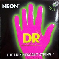 Dr Strings Neon Pembe 9-42 Elektro Teli