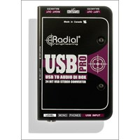 Radial Usb Pro Aktif Stereo Usb Laptop Dı Box