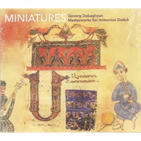 Gevorg Dabaghyan (miniatures) (cd)