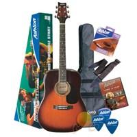 Ashton D25 Pack Akustik Gitar Paketi