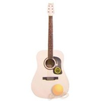 Washburn D 10 S WH Beyaz Akustik Gitar