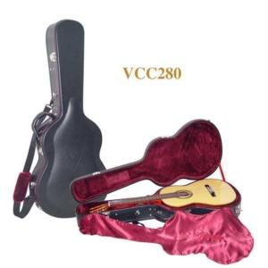 valencia vcc280 gitar kılıfı çanta custom deluxe klasik arched top