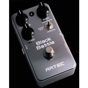 artec le-bbt super distortion - distortion pedalı black battle