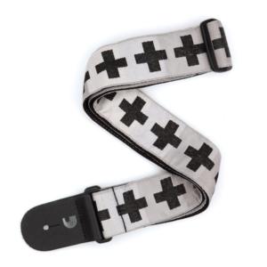 planetwaves t20w1509 - gitar askısı dokuma checkered crosses