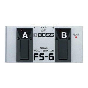 boss boss fs-6 dual footswitch