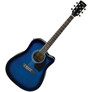 ibanez pf15ece-tbs elektro akustik gitar