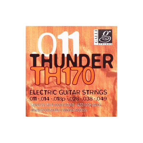 Galli Th170 Thunder 011 Elektro Gitar Teli