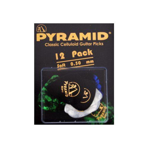 Gitar Aksesuar Pena 12 Adet Pyramid 0.50 MM Soft 554CP
