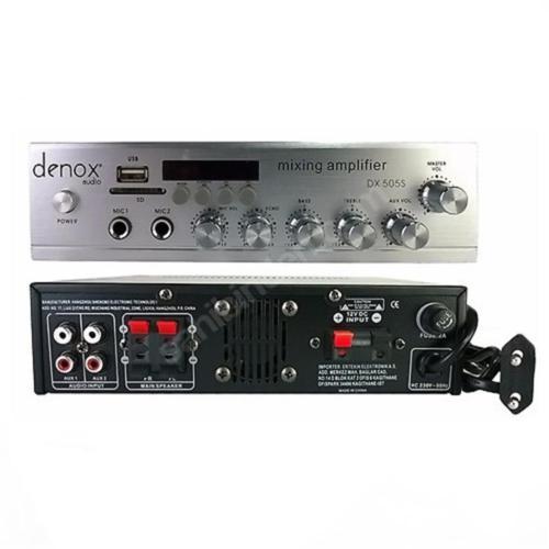 Denox Astron Dx-505S Amfi 2X50 Watt Usb Sd Kart