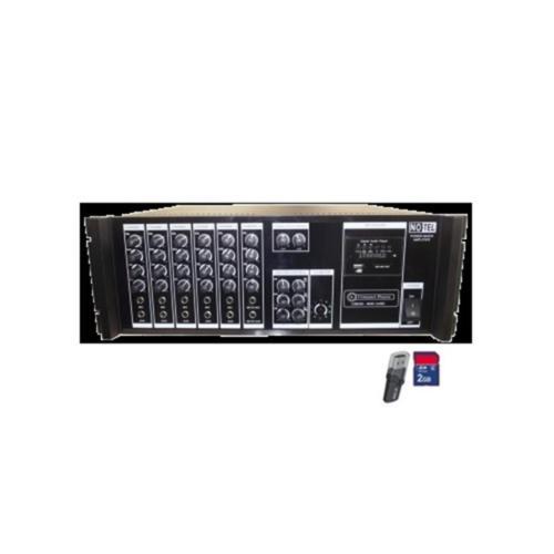 Notel Not A200B Amfi 200 Watt Ekholu Usb Mp3