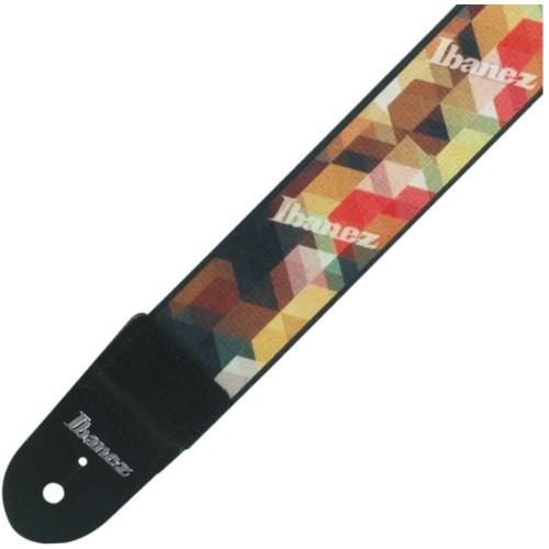 İbanez Gsd50-P11 Cubic Renkli Gitar Askısı