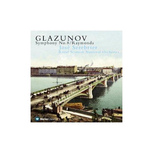 Jose Serebrıer - Glazunov: Symphony No.8 /