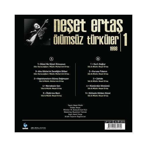 Neşet Ertaş Ölümsüz Türküler 1999 2