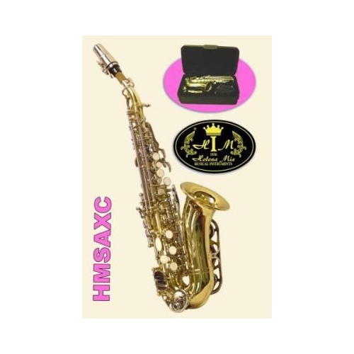 Saksafon Soprano Altın HMSAXC