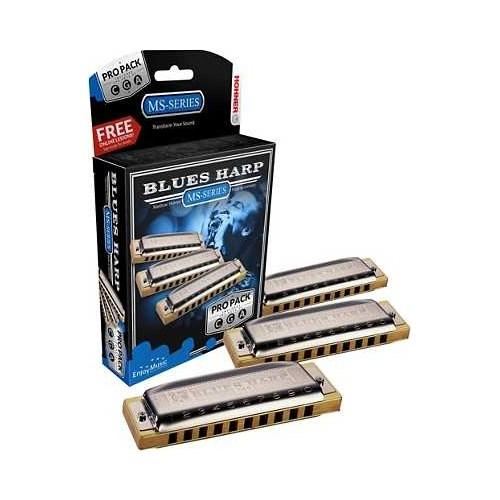 Hohner 532/20 Blues Harp Mızıka seti ( Do - Sol - La )
