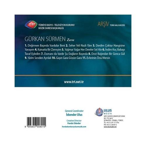 TRT Arşiv Serisi - 205 / Gürkan Sürmen - Zerre