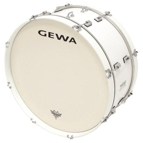 Basix 892224 Beyaz Bando Davulu - Bass 24X10