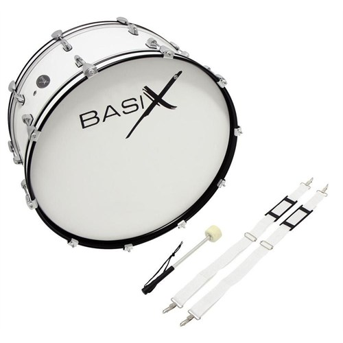 Basix F893.122 Chester Marching Bass Drum 26 X 10