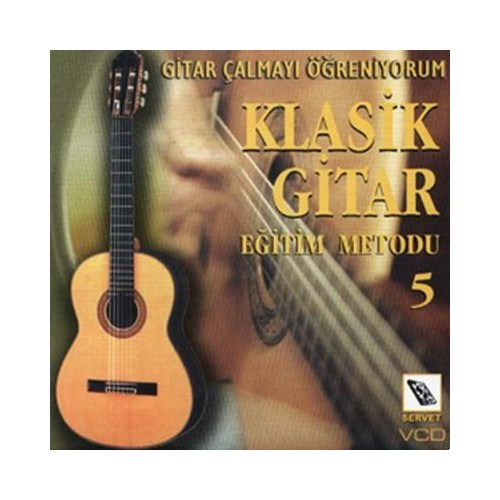 Vcd Klasik Gitar Metodu 5