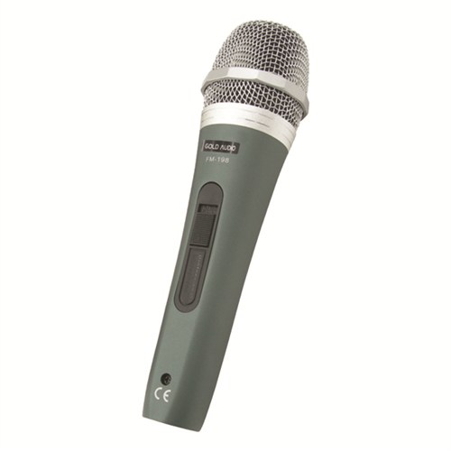 Gold Audio Fm 198 Dinamik Kablolu El Mikrofonu