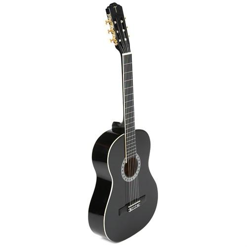 TORRES CG964-BLK Siyah Klasik Gitar (Tel, Kılıf ve Pena Hediyeli)