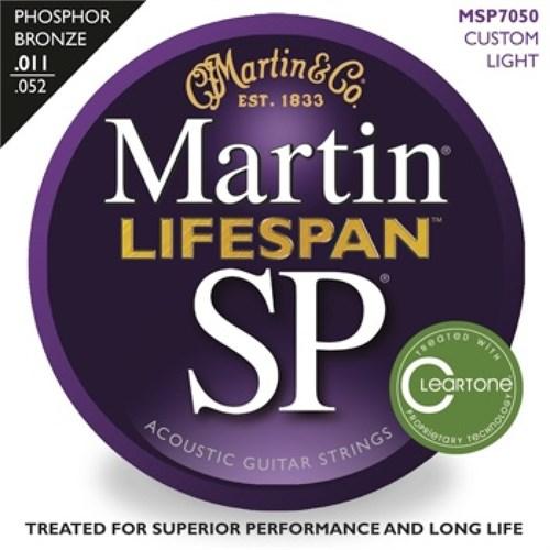 Martin 92/8 Phosphor Bronze (Custom Light) 11-52 Akustik Gitar Teli