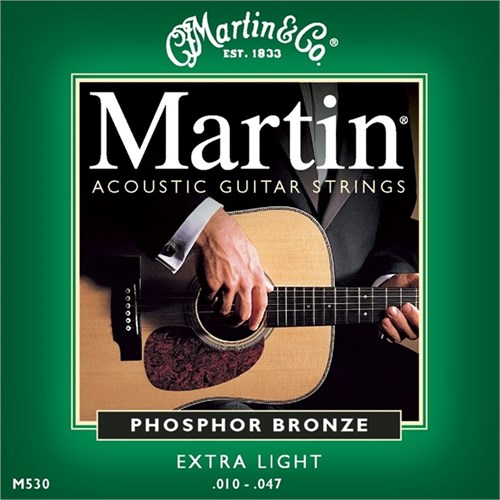 Martin Phosphor Bronze (10-47) Extra Light - Akustik Gitar Teli