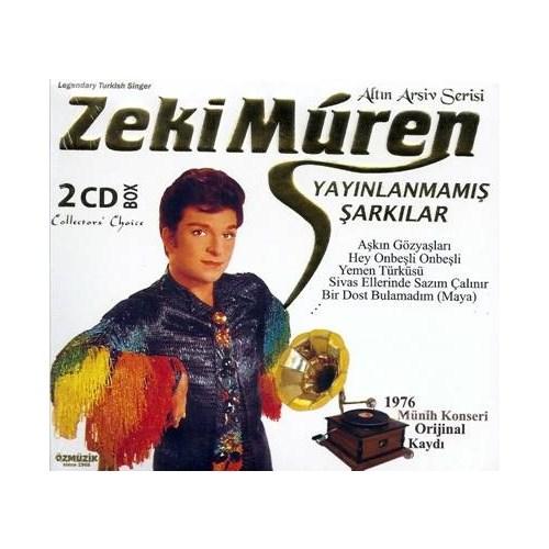Zeki Müren - Yayınlanmamış Şarkılar (2 CD)