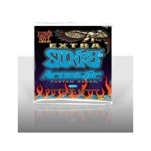 Ernie Ball Po2150 Super Slinky Phosphor Bronze 010-050 Akustik Gitar Tel Seti