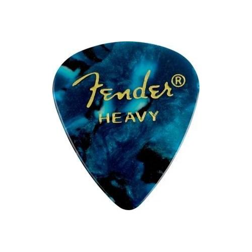 Fender 351 Shape Premium Picks, Heavy, 12 Pack, Oc