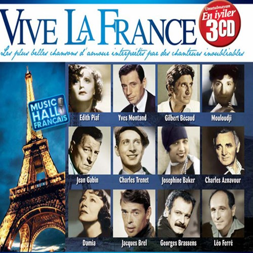 Vive La France 3 Cd - Unutulmayan Fransizca En İyiler