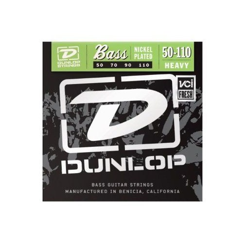 Jim Dunlop Dbn 50-110 Nickel Heavy Stainless Steel Bas Gitar Tel Seti ( 4 Tel )