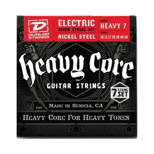 Jim Dunlop Heavy Core 10-60 7 Telli Elektro Gitar Teli