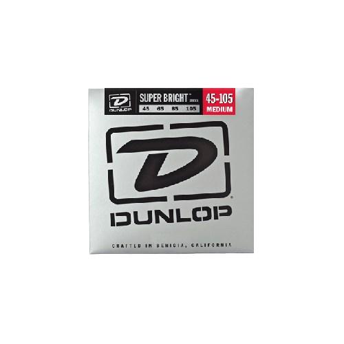 Jim Dunlop 45-105 Super Bright Çelik 4 Tel Bas Gitar Tel Seti