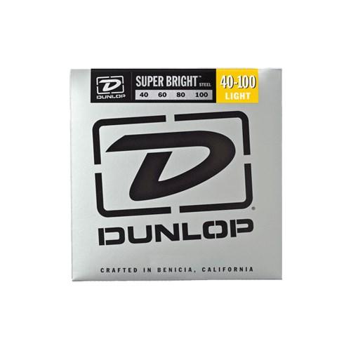 Jim Dunlop 40-100 Super Bright Çelik 4 Tel Bas Gitar Tel Seti