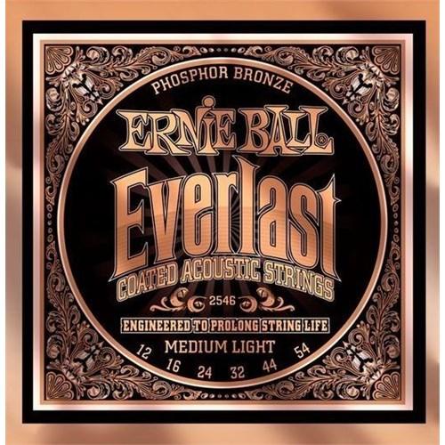 Ernie Ball P02546 Everlast Akustik Gitar Teli (MediumLight)
