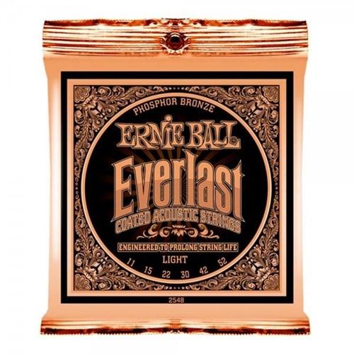 Ernie Ball P02548 Everlast Akustik Gitar Teli (Light)