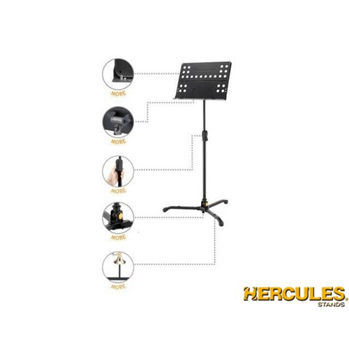Hercules Bs311b Katlanabilir Delikli Tablalı