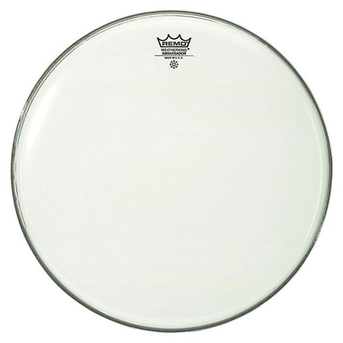 "Remo Ba-0218-00- 18"" Ambassador Smooth White Deri"