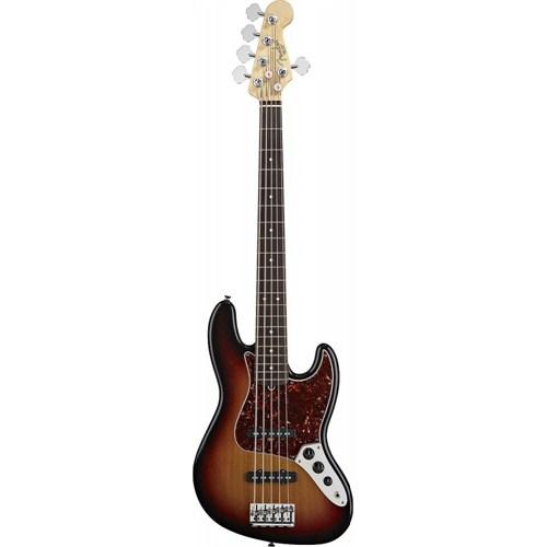 Fender American Standard Jazz Bass V 5-Telli RW 3TS Bass Gitar