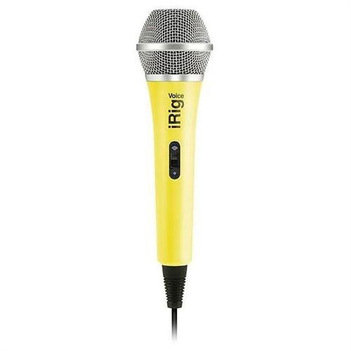 Ik Multimedia İrig Voice Yellow Karaoke Mikrofonu (İos & Android)