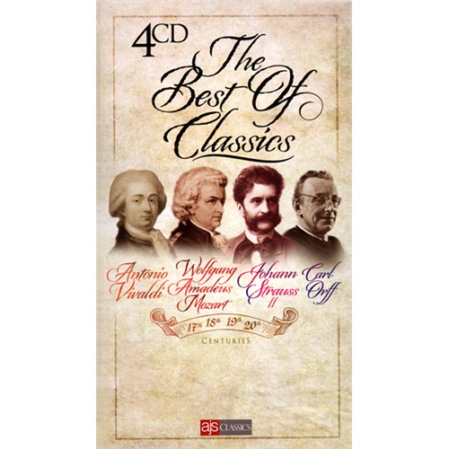 Various Artists - The Best Of Classics 4 CD