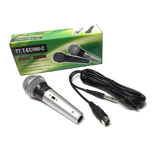 Tt-Technıc Sn-305 Mikrofon El Tipi Kablolu