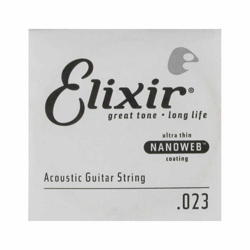 Elixir 023 Tek Bronz Akustik Gitar Teli