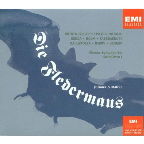 Johann Strauss, Jr - Die Fledermaus 2 Cd